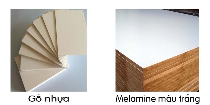 màu gỗ nhựa